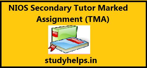 NIOS Solved Assignment TMA