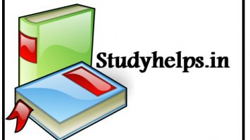 studyhelps STUDY MATERIAL